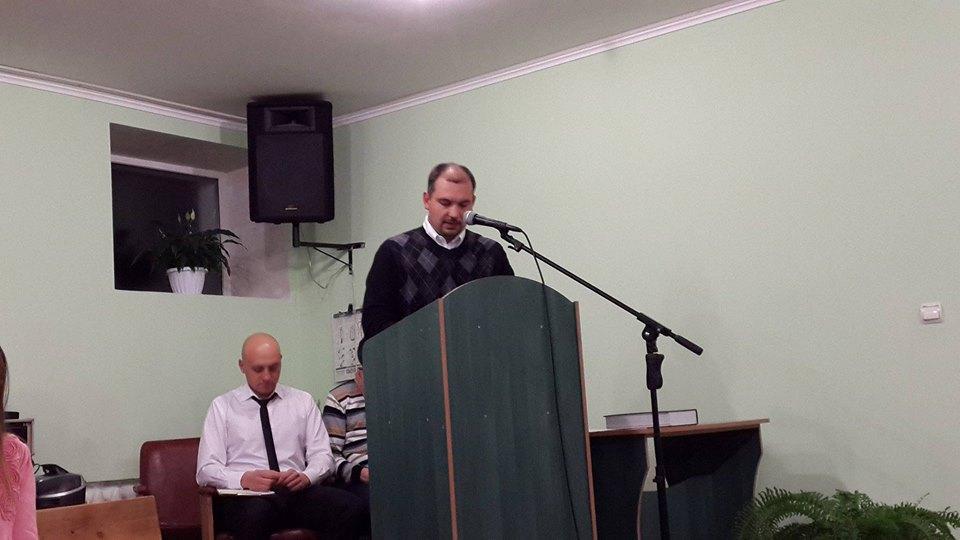 Marchenko at the podium